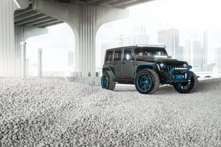 Jeep Wrangler on AGL37 Spec Two 3-Piece