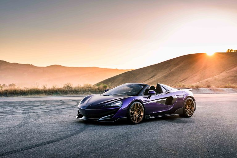2019 Mclaren 600lt on AG Luxury Wheels AGL58