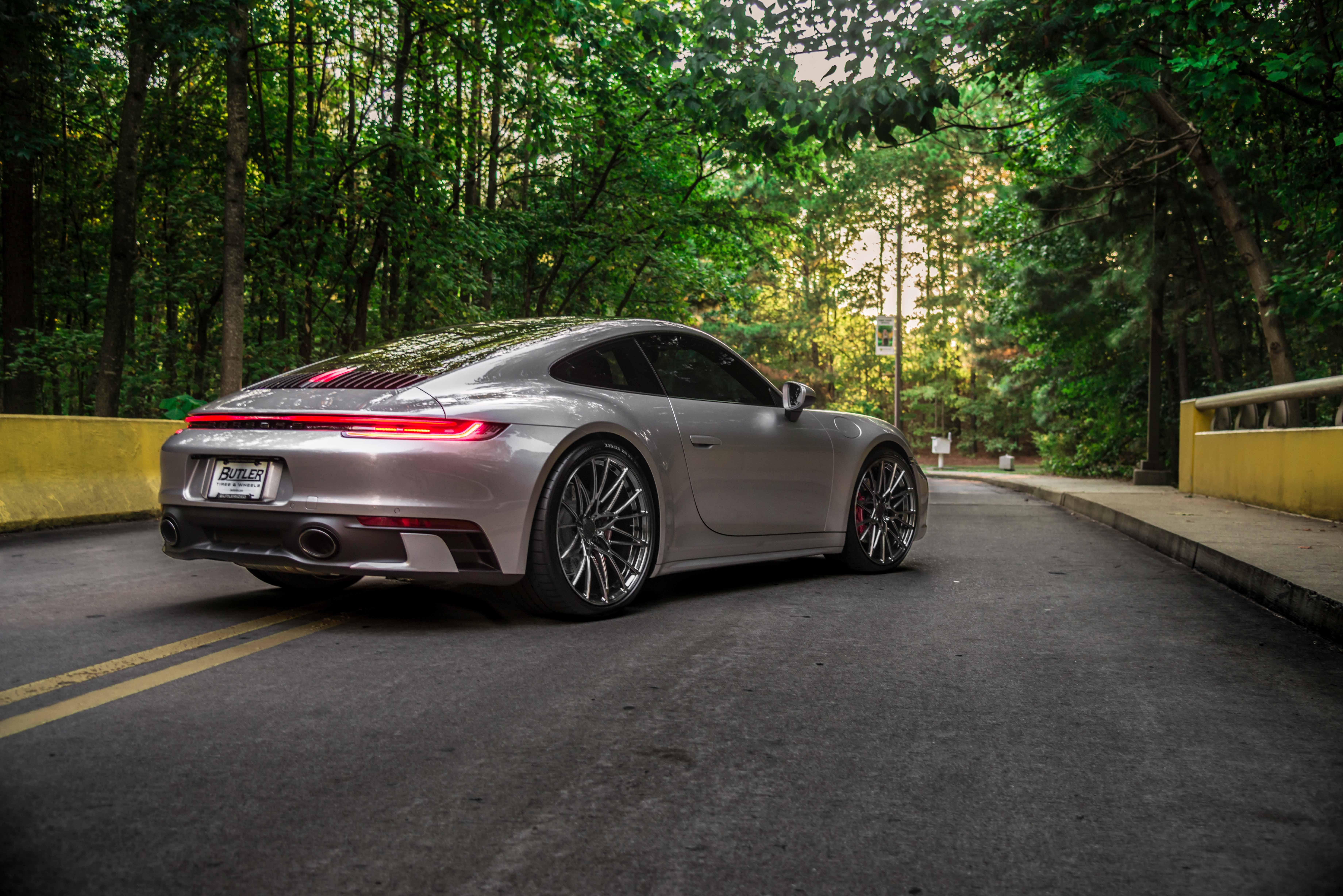 2020 Porsche 992 on AG Luxury Wheels AGL58