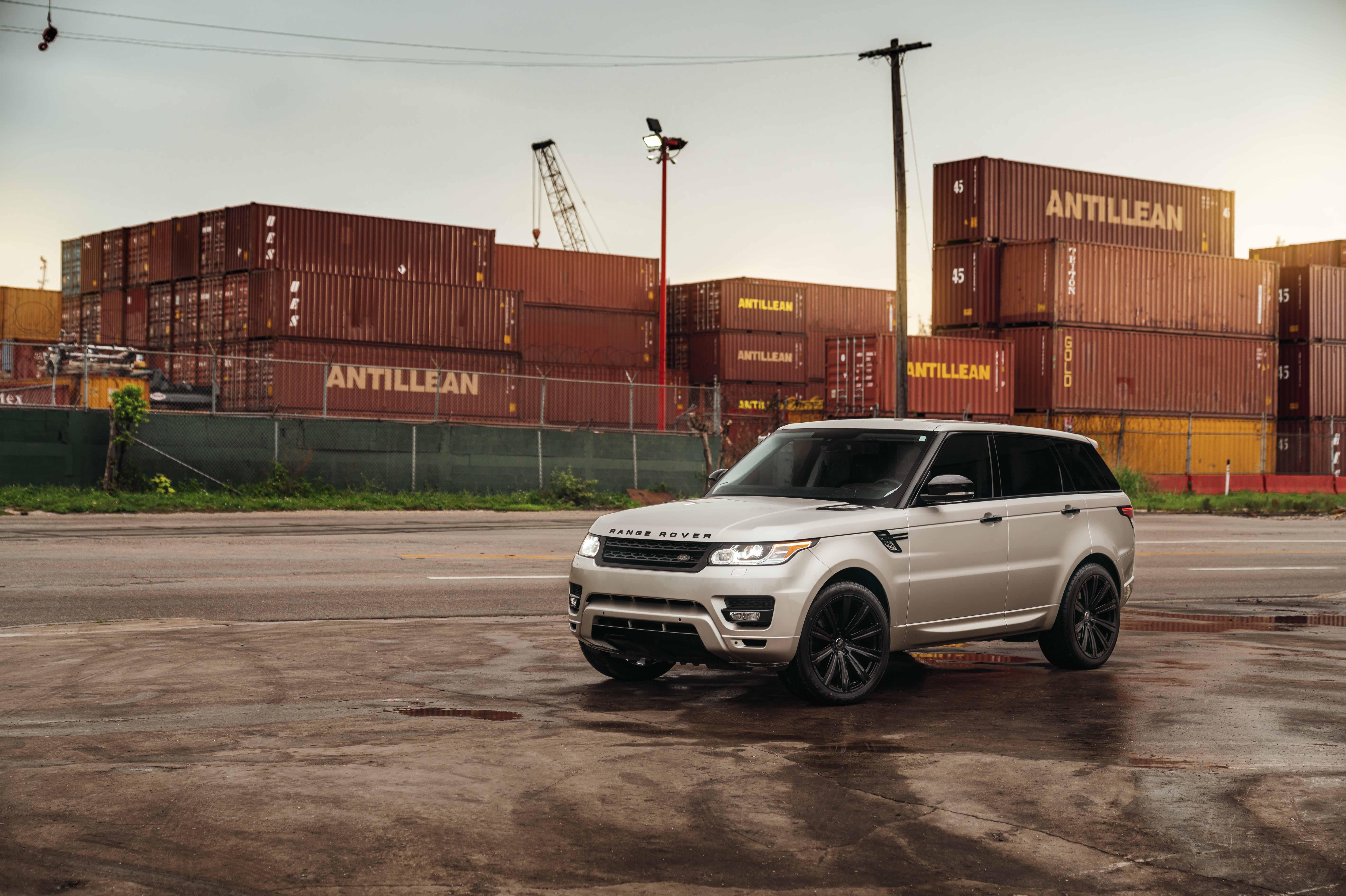 Range Rover Sport on AG Luxury Wheels AGL Vanguard