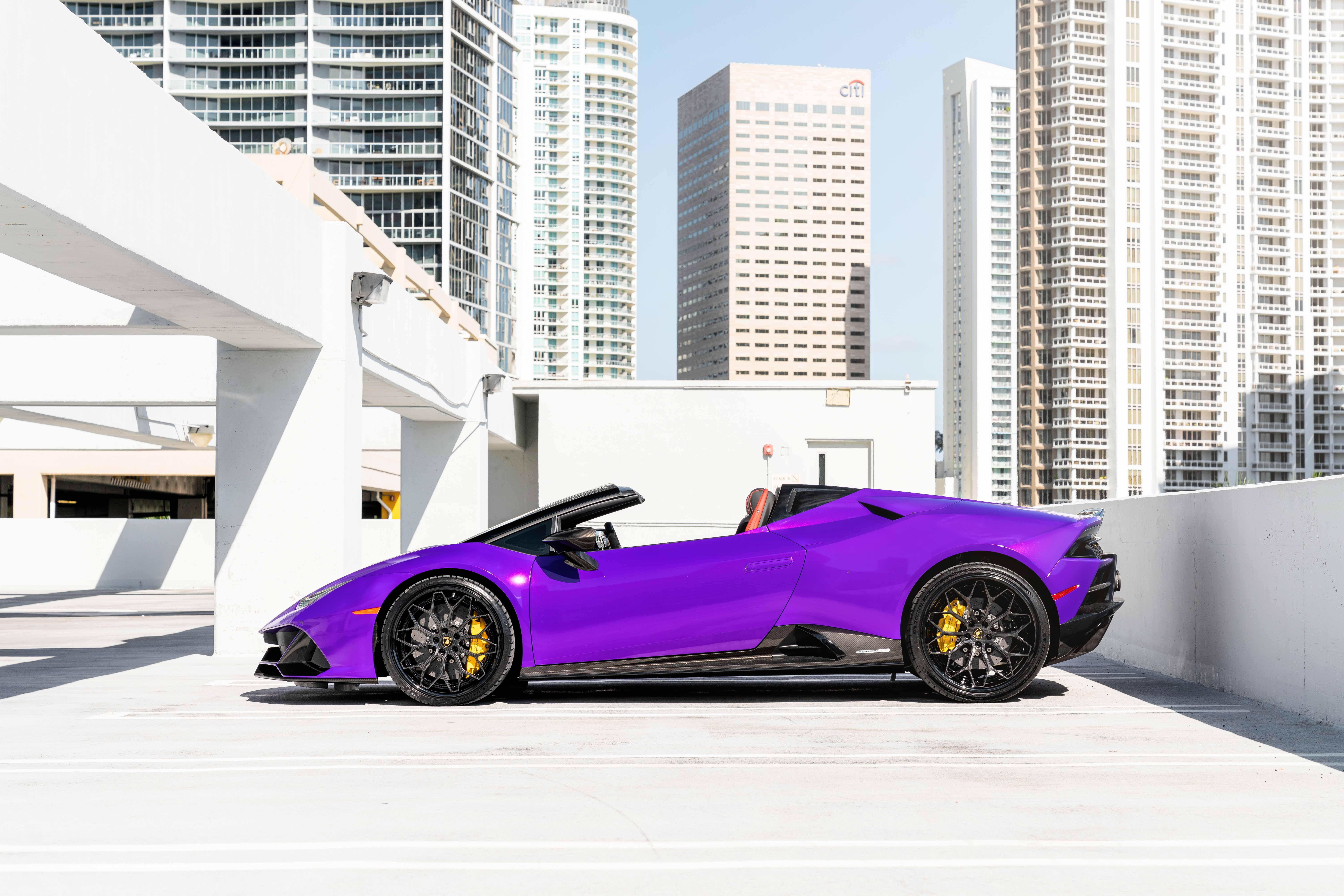2020 Lamborghini Huracan EVO on AG Luxury Wheels AGL61