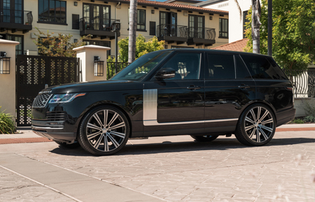 agluxury wheels agl-vanguard gloss black brushed face two tone custom concave monoblock flow form rotary forged ten spoke luxury range rover sport supercharged 24in 24inch vossen forgiato anrky xoluxury vellano