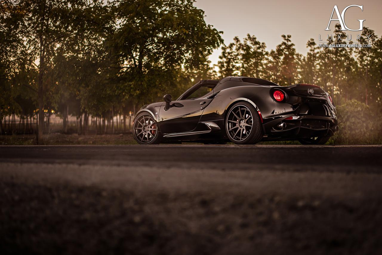 Alfa Romeo 4C >> AG Luxury Wheels - Alfa Romeo 4C Forged Wheels