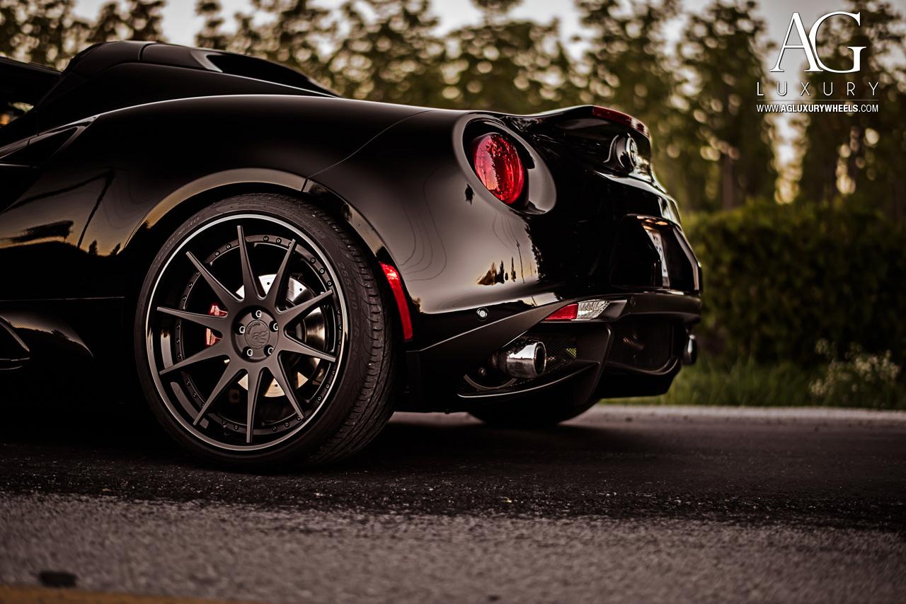 ag luxury wheels - alfa romeo 4c forged wheels