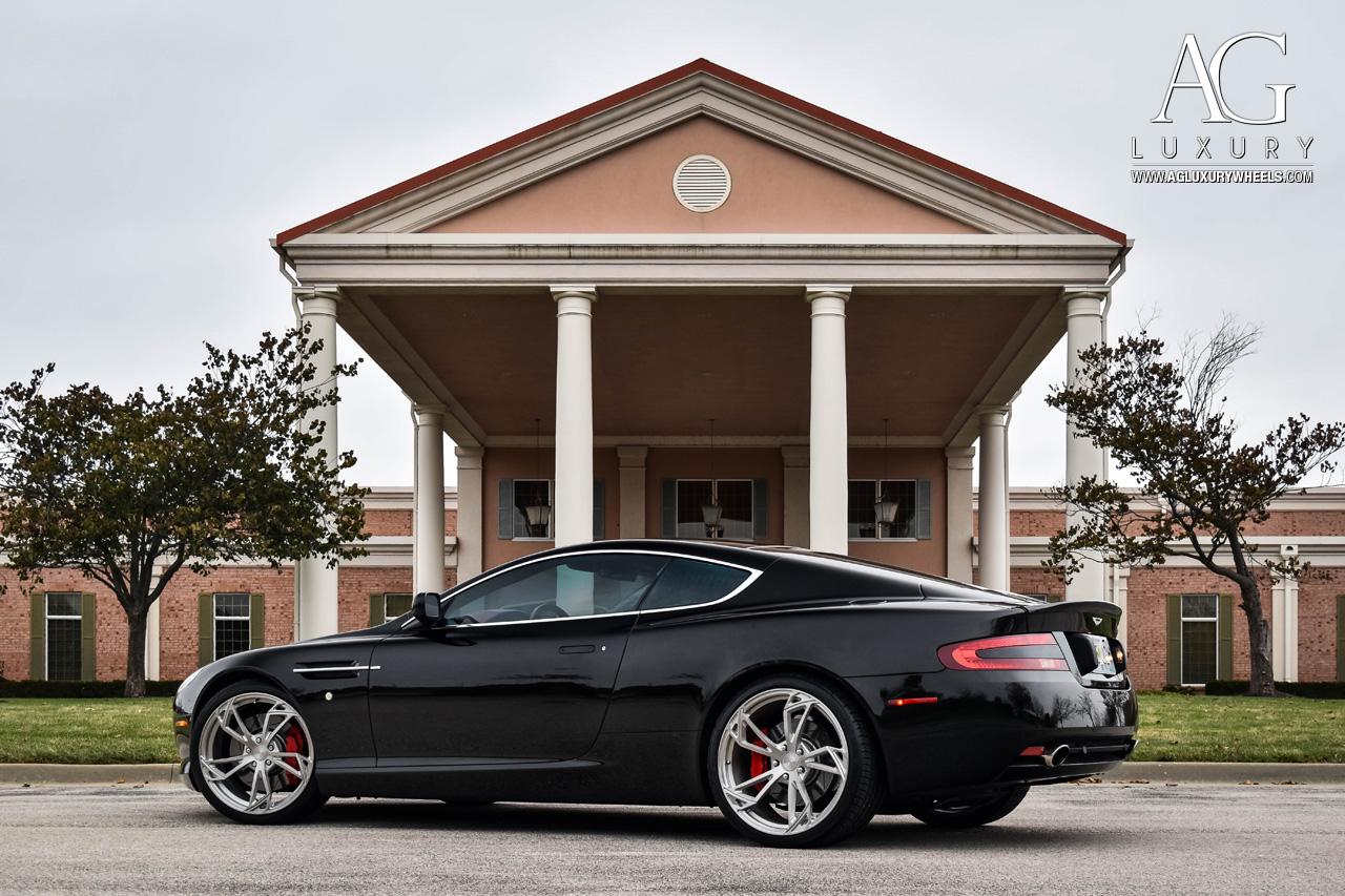Ag Luxury Wheels Aston Martin Db9 Monoblock Forged Wheels