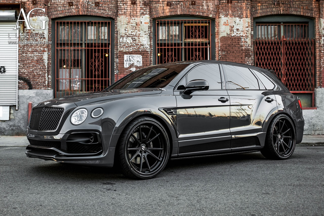 Ag Luxury Wheels Bentley Bentayga Agl19 Spec3 Forged Wheels