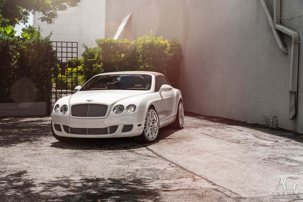 agluxury wheels agl58 spec2 step lip brushed three piece bespoke rims custom forged bentley continental gtspeed gt speed convertible mccustoms miami vossen forgiato anrky rotiform 19inch 19in staggered