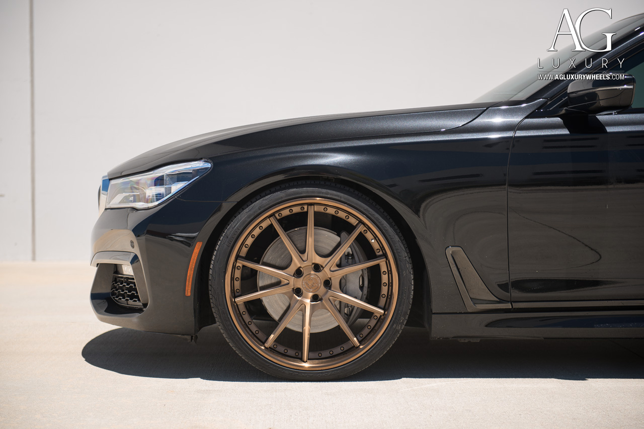 Ag Luxury Wheels Bmw 750i Forged Wheels