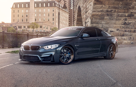bmw f82 m4 f80 m3 forged concave wheels brushed gunmetal agl23
