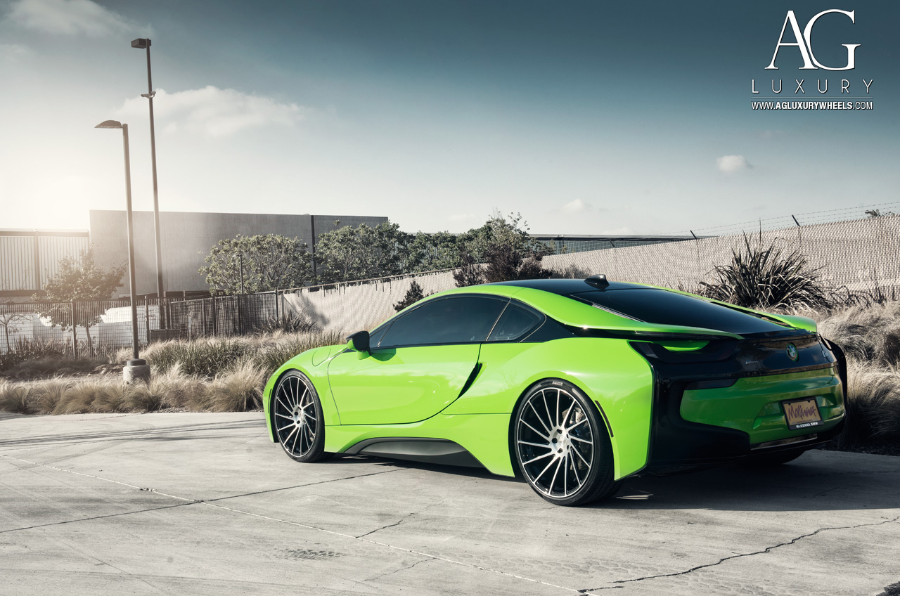 Ag Luxury Wheels Bmw I8 Forged Wheels