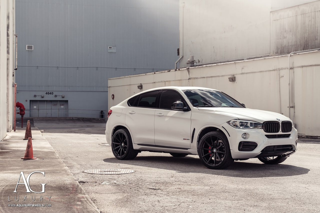 Ag Luxury Wheels Bmw X6 Agl31 Monoblock Forged Wheels