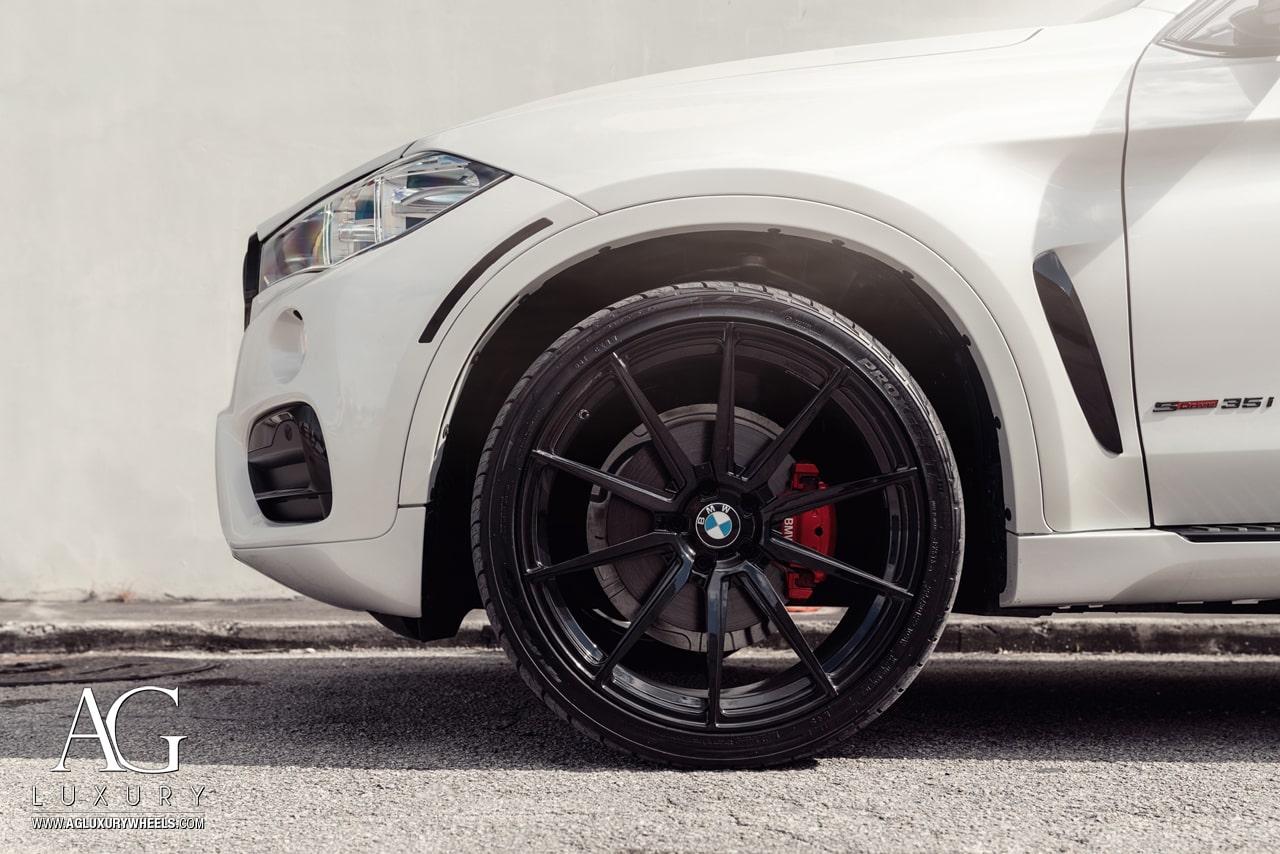 Ag Luxury Wheels Bmw X6 Agl31 Monoblock Forged Wheels