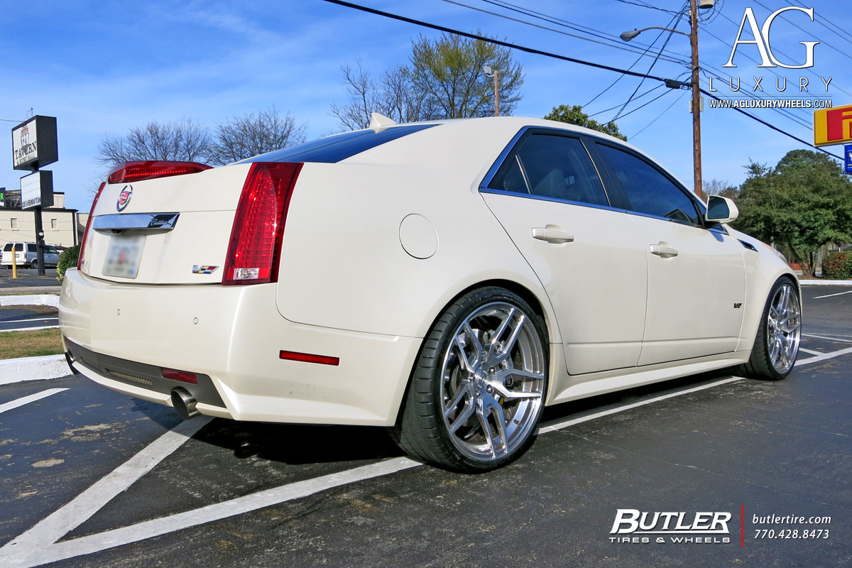 Ag Luxury Wheels Cadillac Cts V Forged Wheels