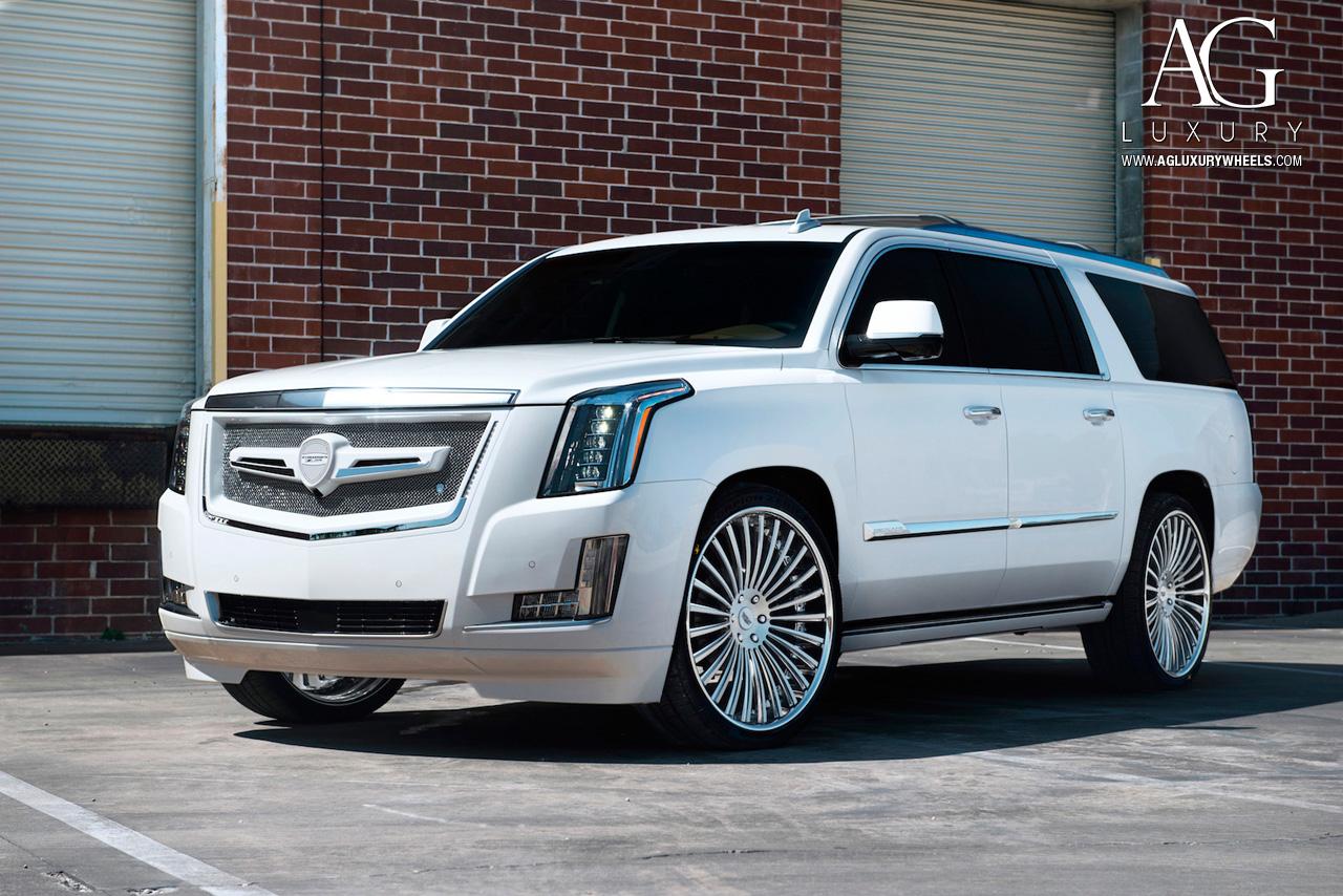 AG Luxury Wheels - Cadillac Escalade Forged Wheels