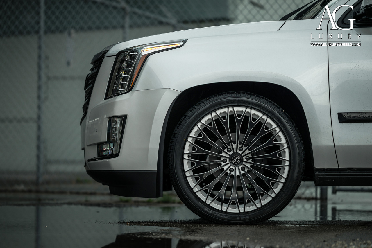 Cadillac Escalade Black Rims >> AG Luxury Wheels - Cadillac Escalade Forged Wheels