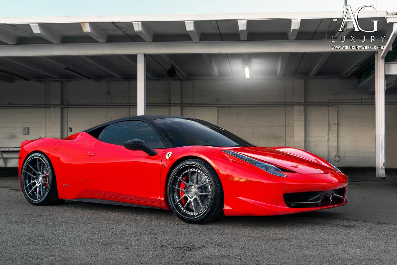 Carbon Fiber Wheels >> AG Luxury Wheels - Ferrari 458 Italia Forged Wheels