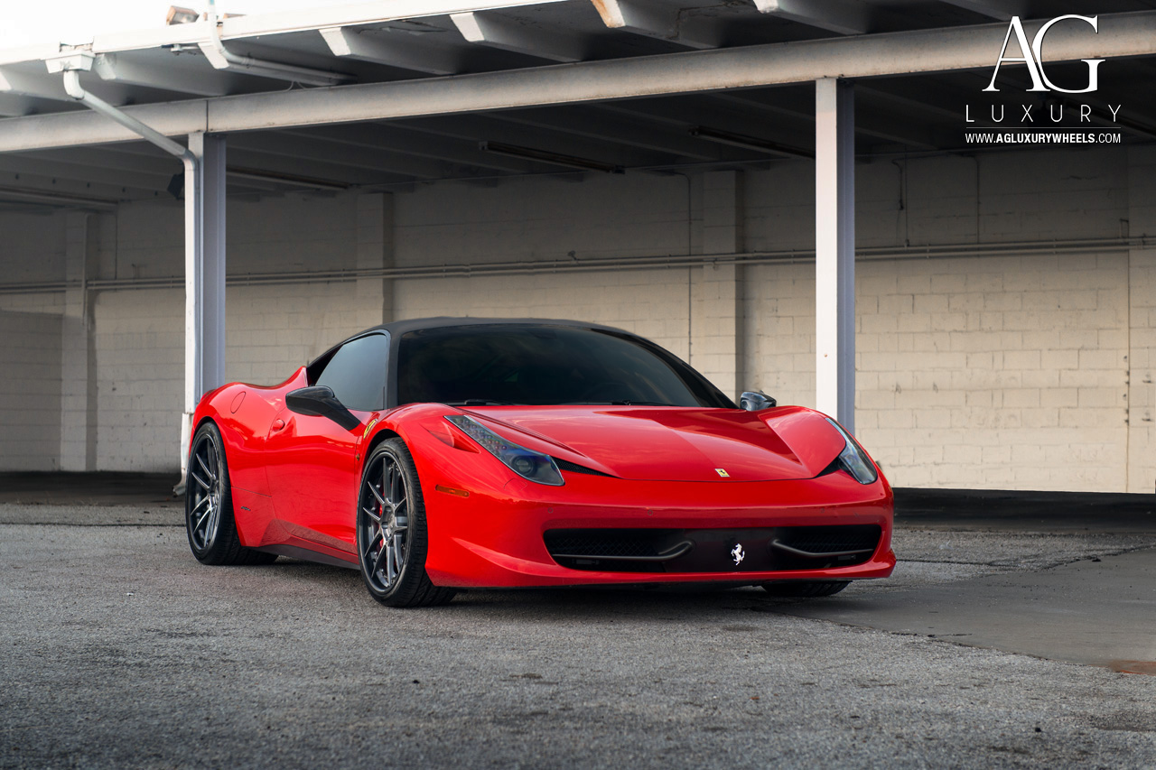 Carbon Fiber Wheels >> AG Luxury Wheels - Ferrari 458 Italia Forged Wheels