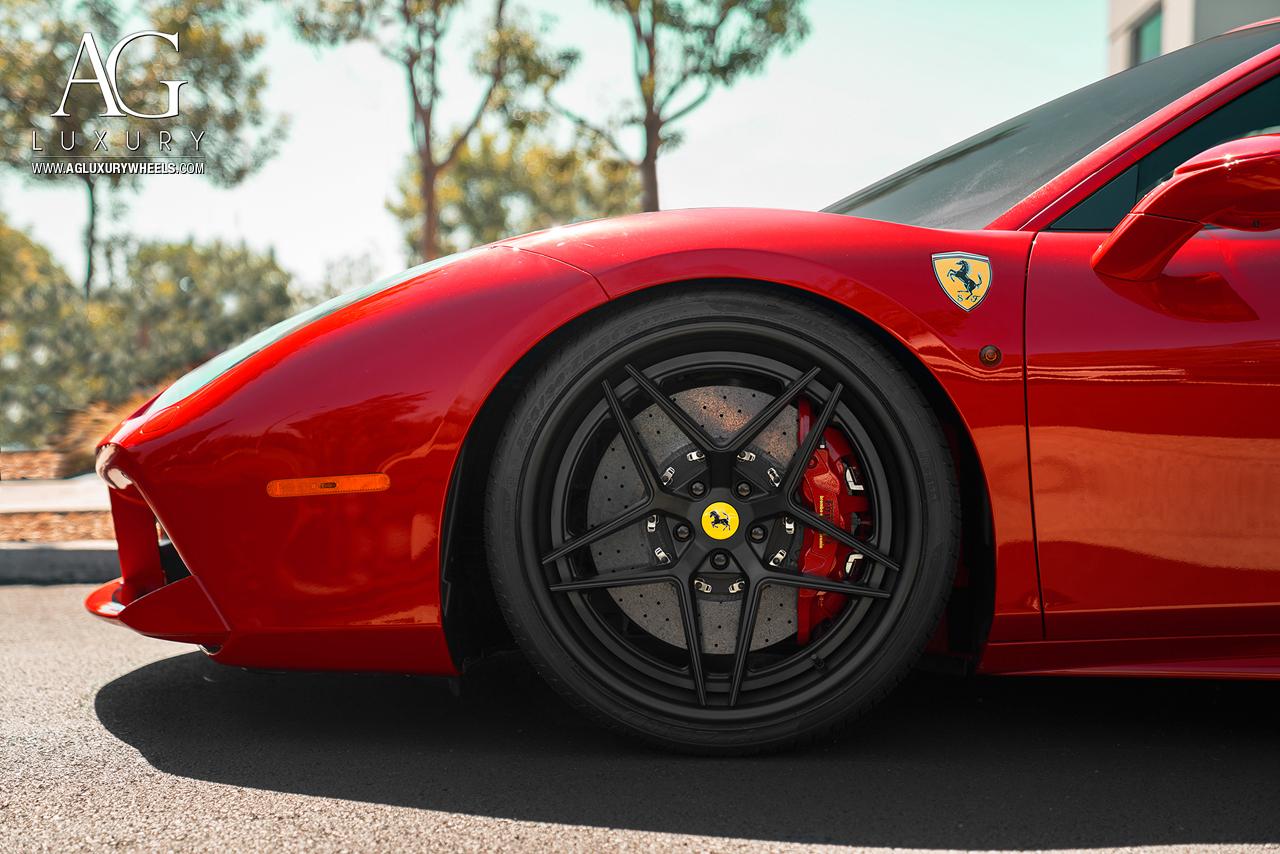 Design Car Photos >> AG Luxury Wheels - Ferrari 488 GTB Forged Wheels