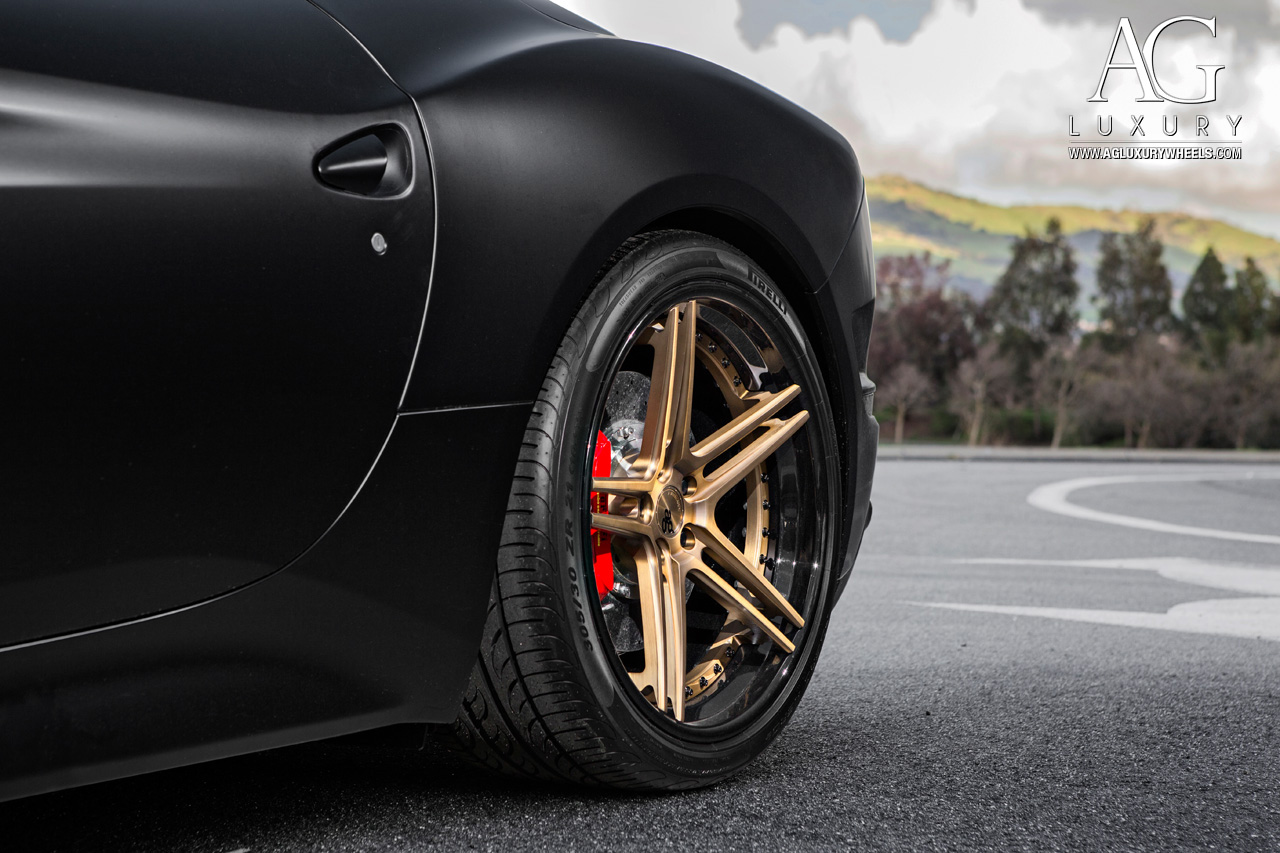 Ag Luxury Wheels Ferrari California Forged Wheels