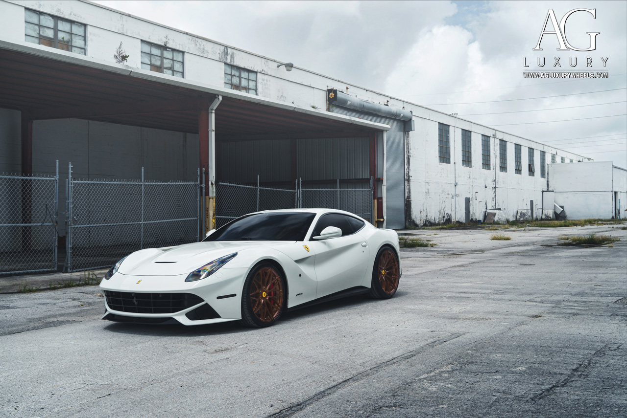Ag Luxury Wheels Ferrari F12berlinetta Forged Wheels