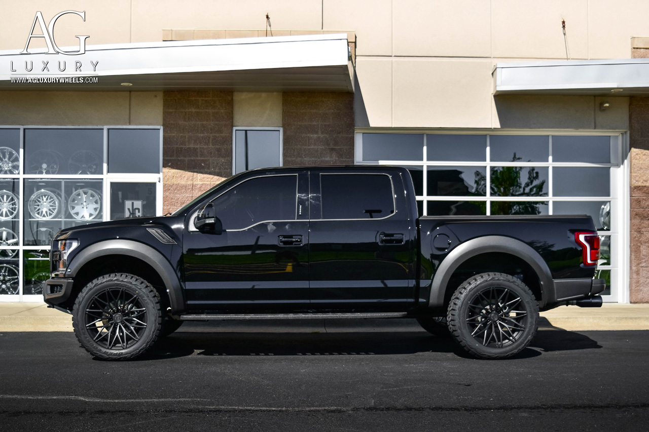 Ford Raptor Lifted >> AG Luxury Wheels - Ford Raptor AGL40 Duo Block Forged Wheels