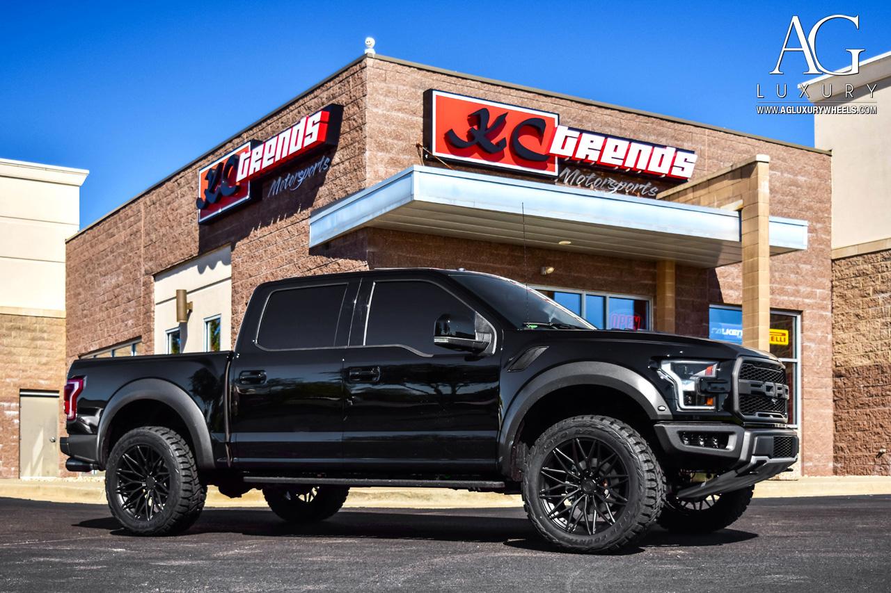 6 Wheel Ford Raptor >> AG Luxury Wheels - Ford Raptor AGL40 Duo Block Forged Wheels
