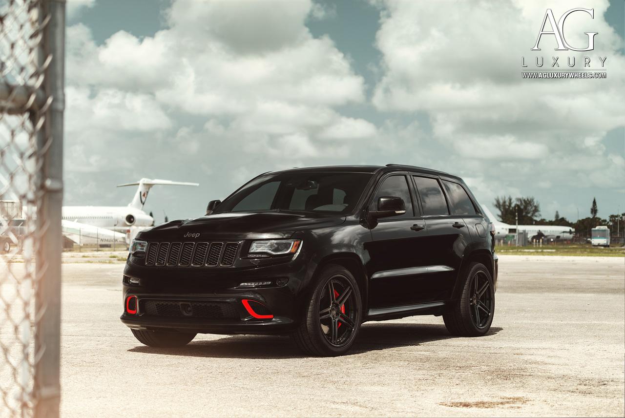 Jeep Grand Cherokee 2018 Black >> AG Luxury Wheels - Jeep Grand Cherokee SRT Forged Wheels