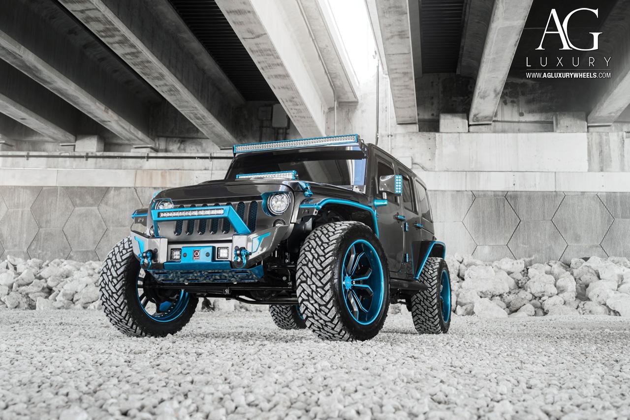 Ag Luxury Wheels Jeep Wrangler Forged Wheels