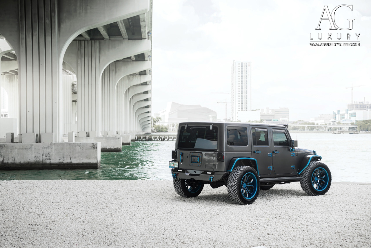 AG Luxury Wheels - Jeep Wrangler Forged Wheels