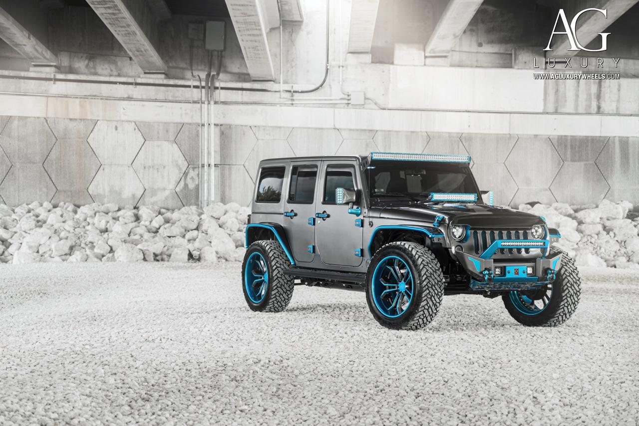 ag luxury wheels jeep wrangler forged wheels. Black Bedroom Furniture Sets. Home Design Ideas