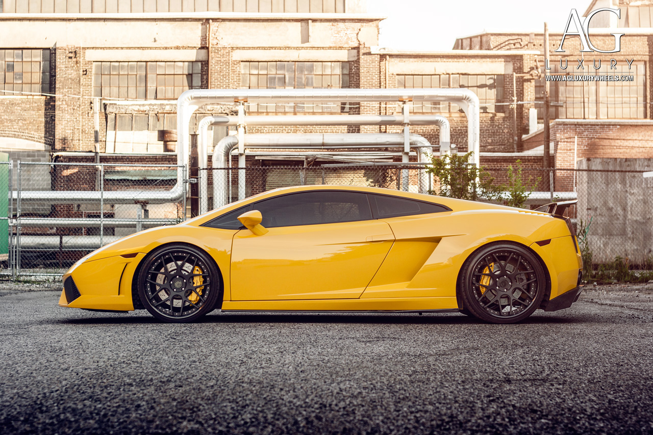 Ag Luxury Wheels Lamborghini Gallardo Forged Wheels