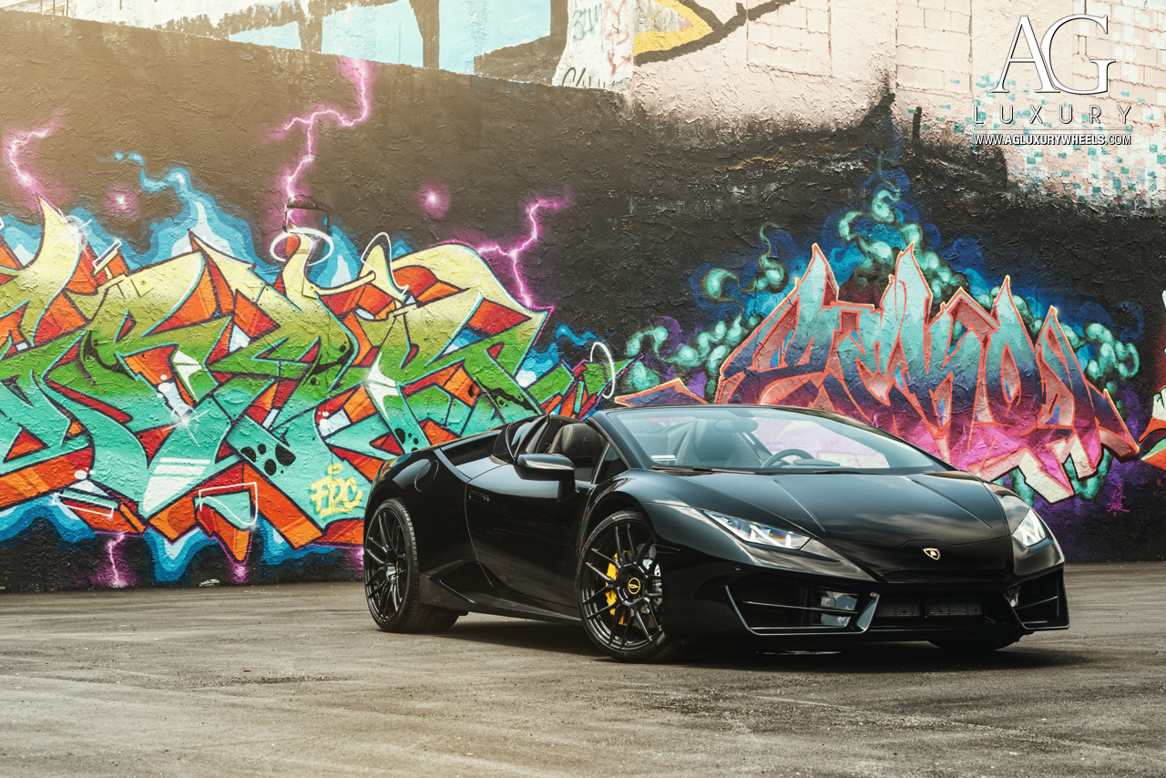 Lamborghini Aventador Spyder >> AG Luxury Wheels - Lamborghini Huracan Spyder Forged Wheels
