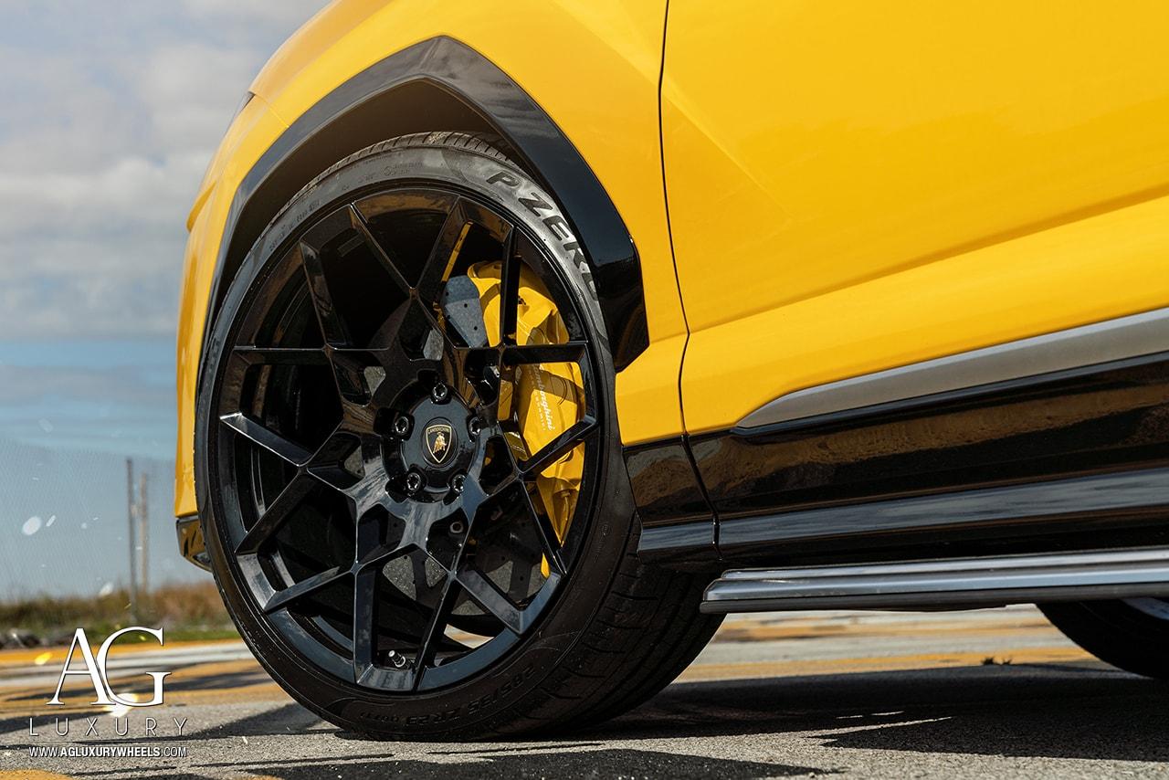 Ag Luxury Wheels Lamborghini Urus Agl55 Forged Wheels