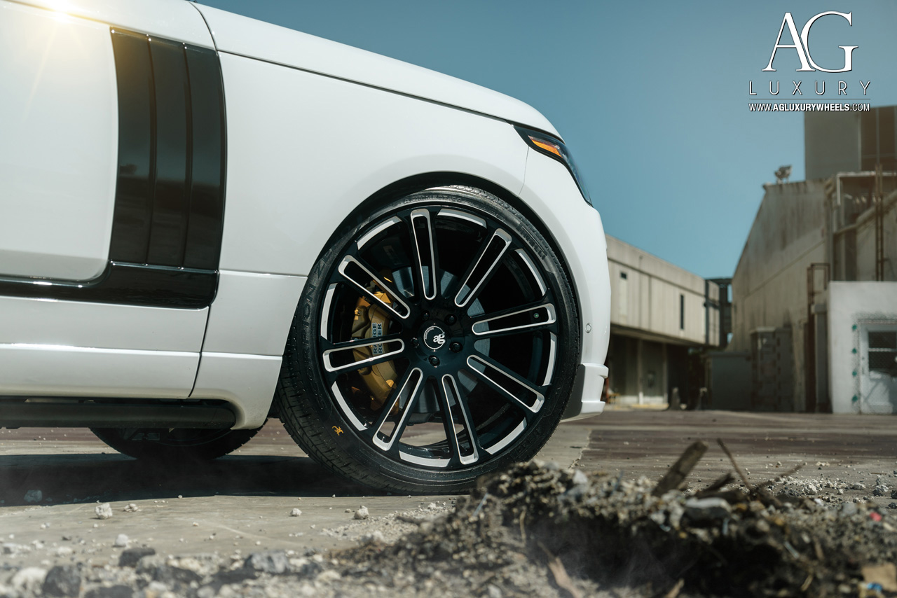 Range Rover Black >> AG Luxury Wheels - Range Rover Forged Wheels