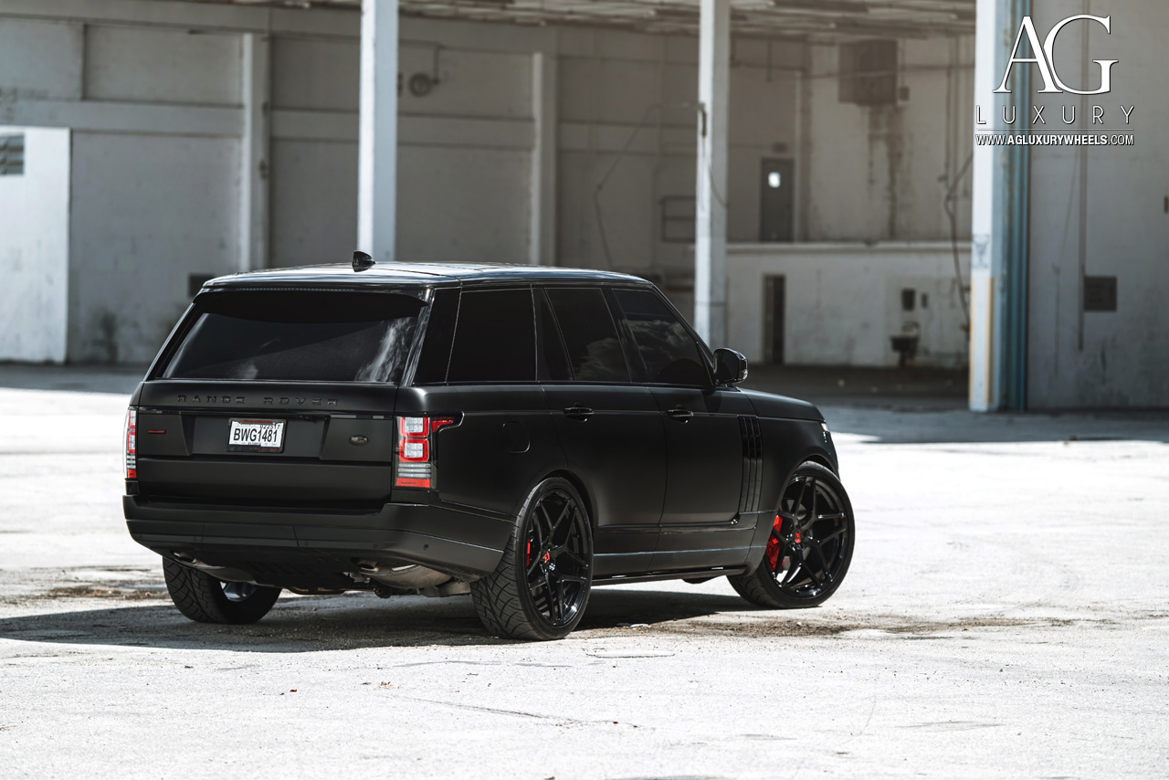 Ag Luxury Wheels Range Rover Forged Wheels