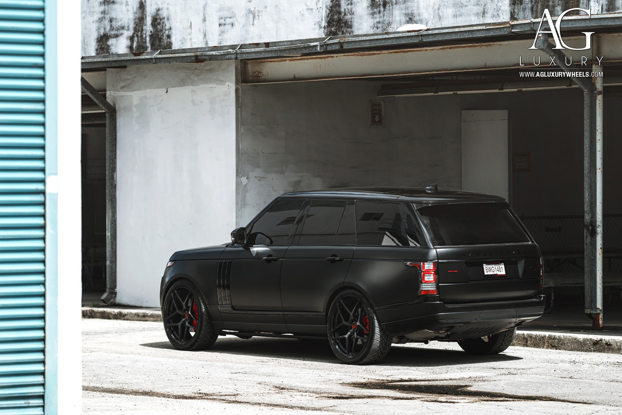 Ag Luxury Wheels Range Rover Forged Wheels