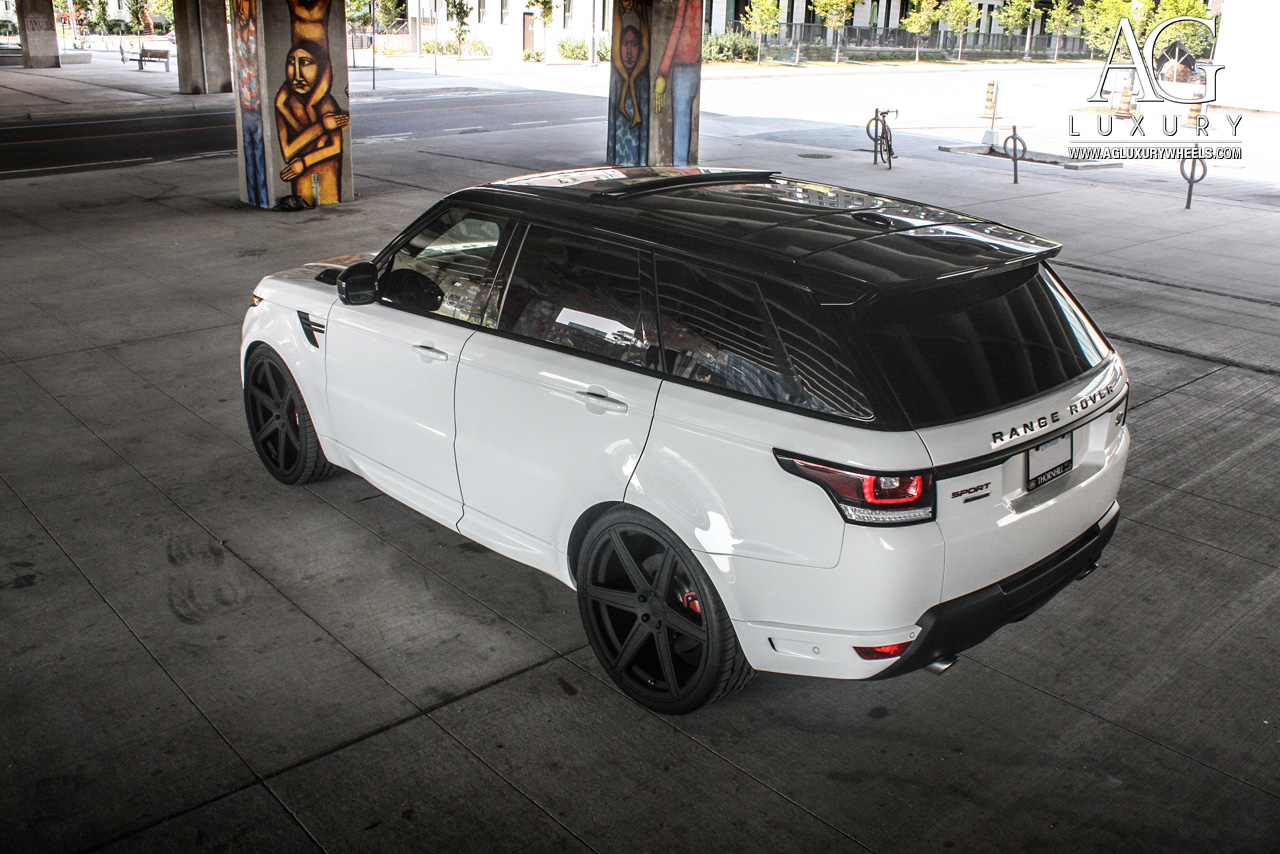 Range Rover Black >> AG Luxury Wheels - Range Rover Sport Forged Wheels