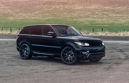 land rover range rover sport forged wheels gloss black agl23