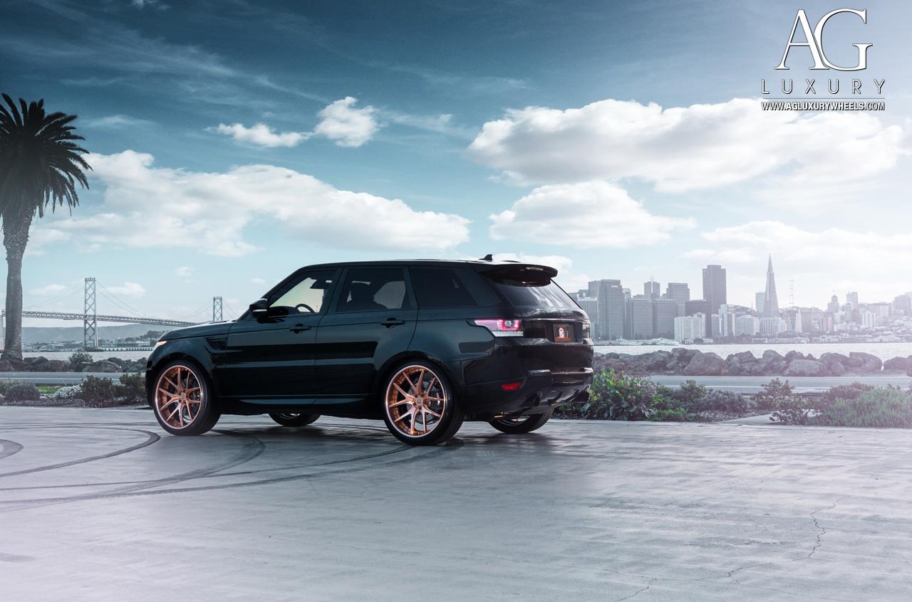 Ag Luxury Wheels Range Rover Sport Forged Wheels