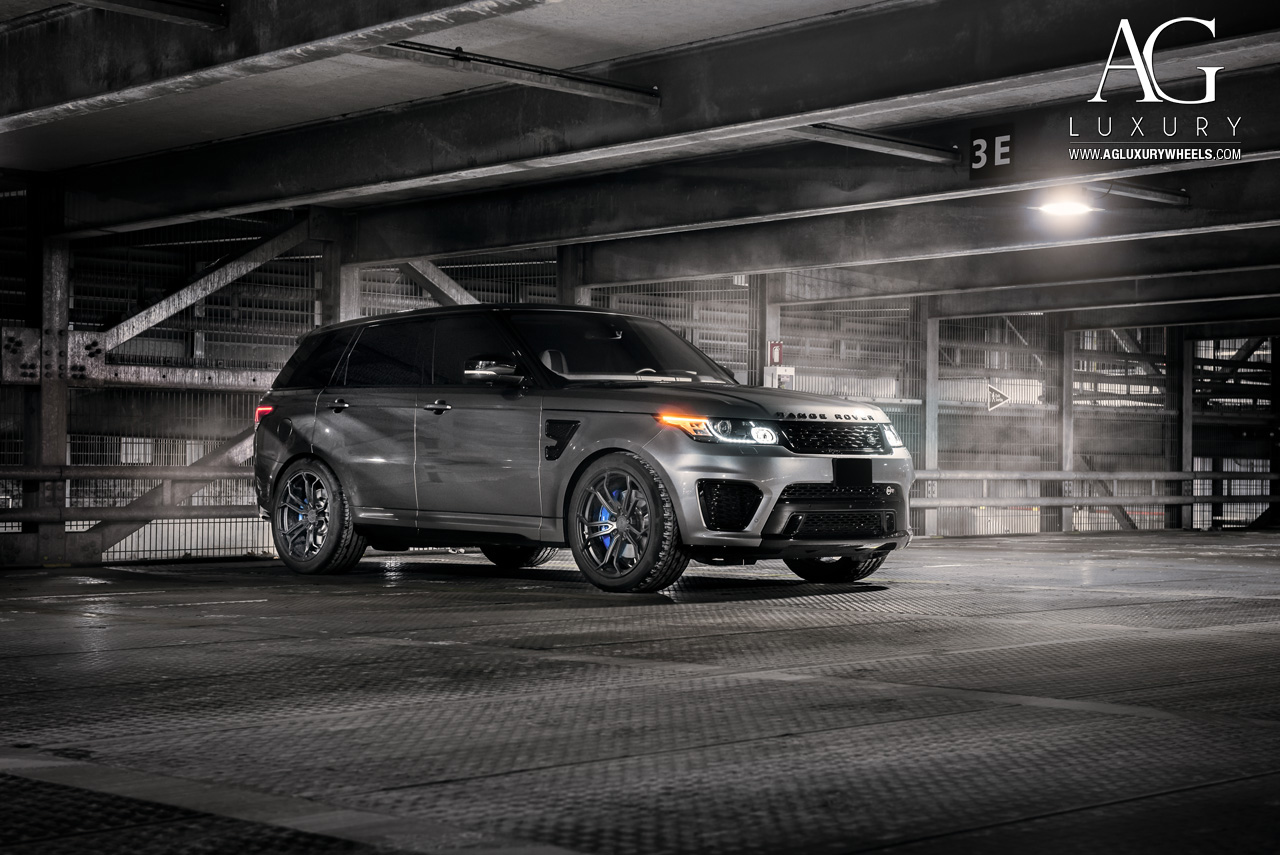 Range Rover Matte >> AG Luxury Wheels - Range Rover Sport SVR Forged Wheels