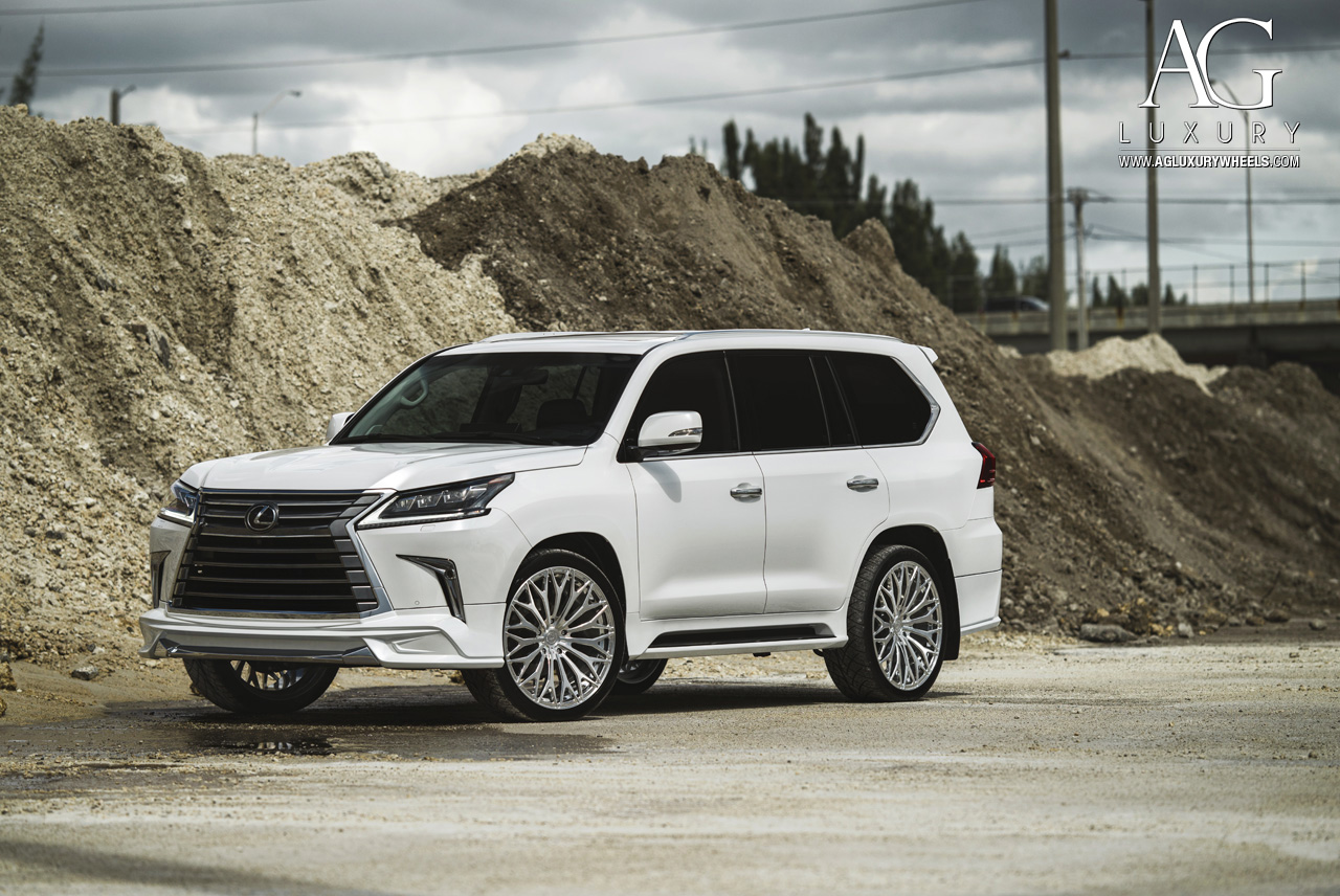 ag luxury wheels lexus lx570 forged wheels. Black Bedroom Furniture Sets. Home Design Ideas