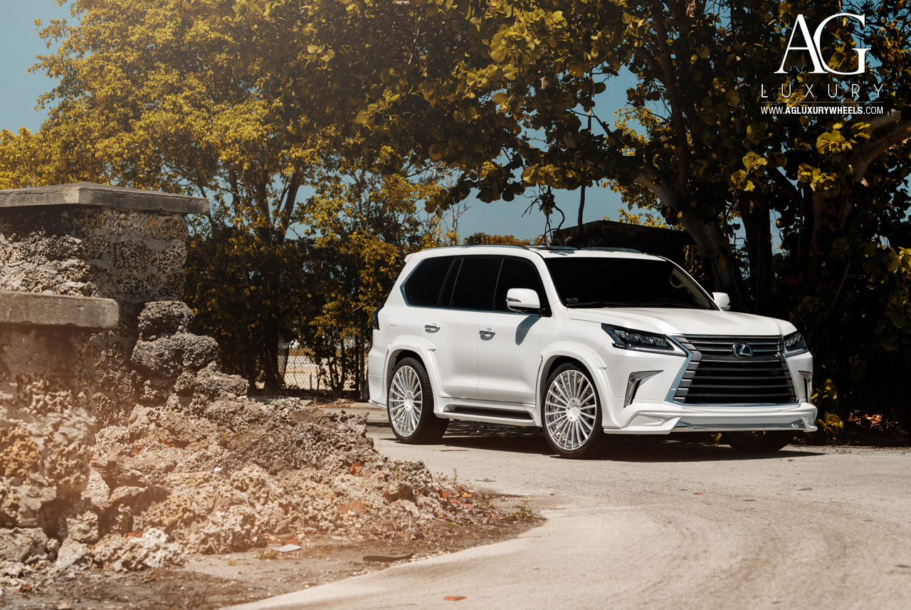 Lexus Lx 570 >> AG Luxury Wheels - Lexus LX570 Forged Wheels
