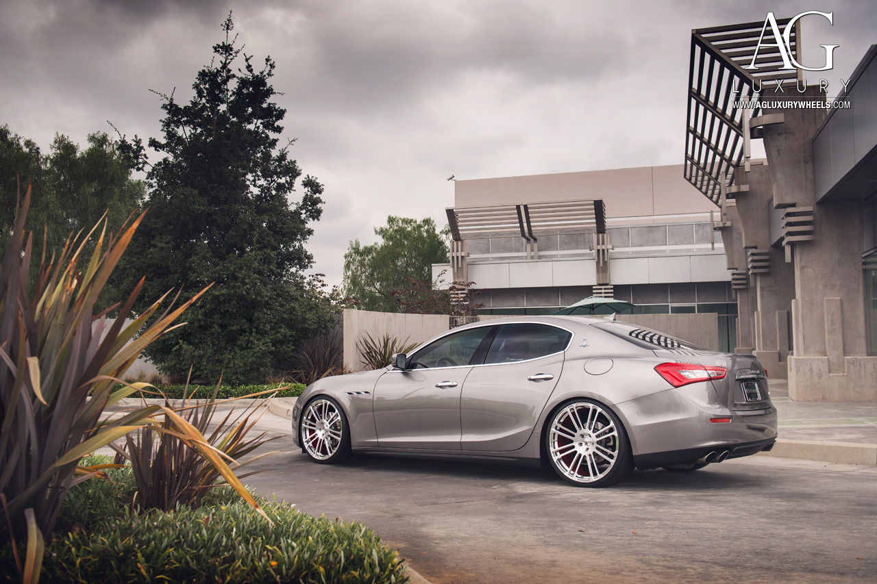 Ag Luxury Wheels Maserati Ghibli Forged Wheels