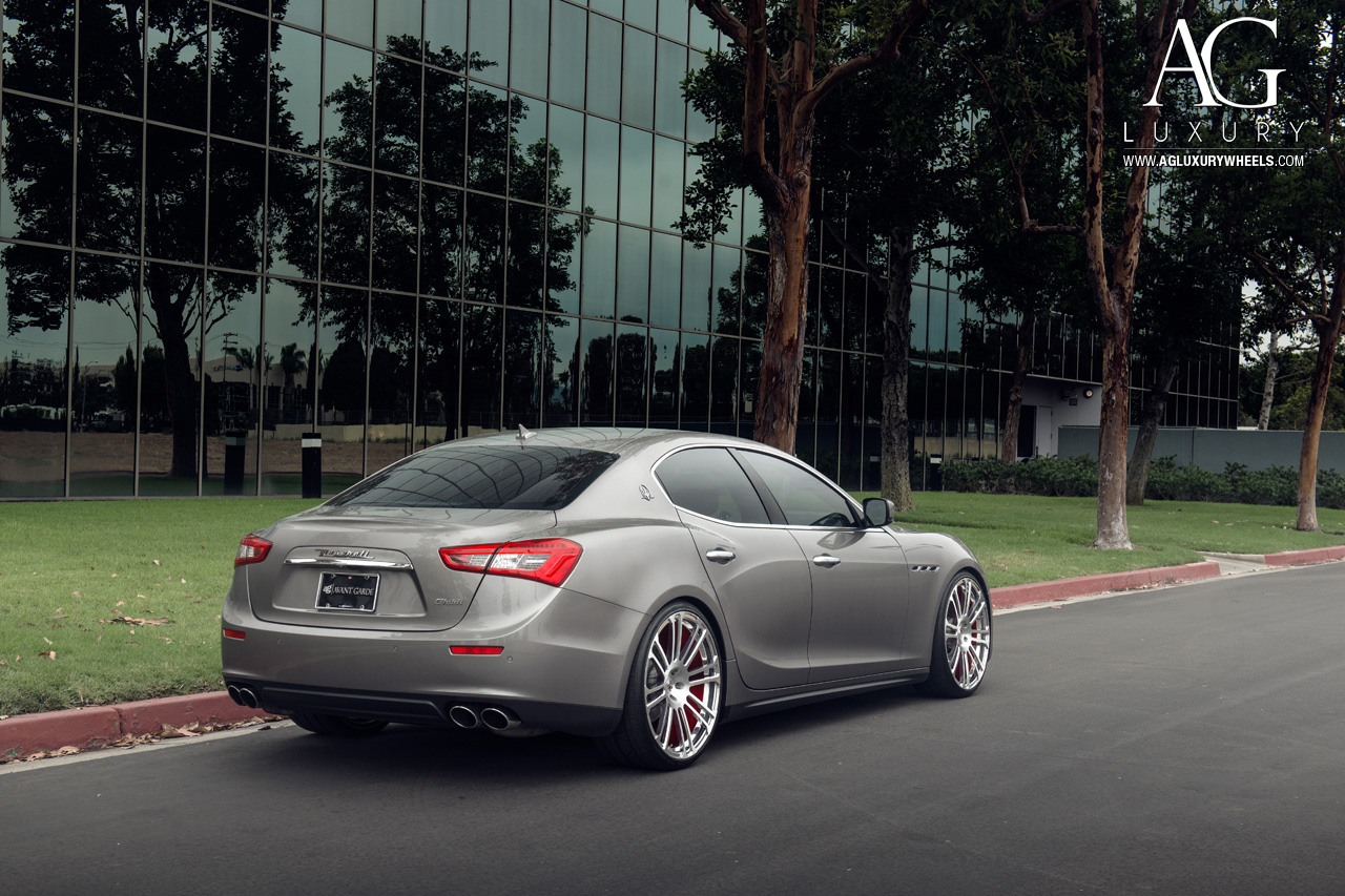 The Car Company >> AG Luxury Wheels - Maserati Ghibli Forged Wheels