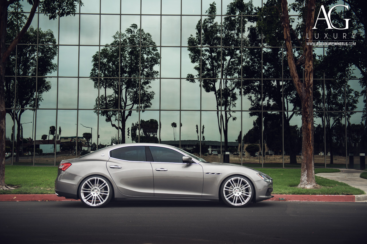 The Car Company >> AG Luxury Wheels - Maserati Ghibli Forged Wheels
