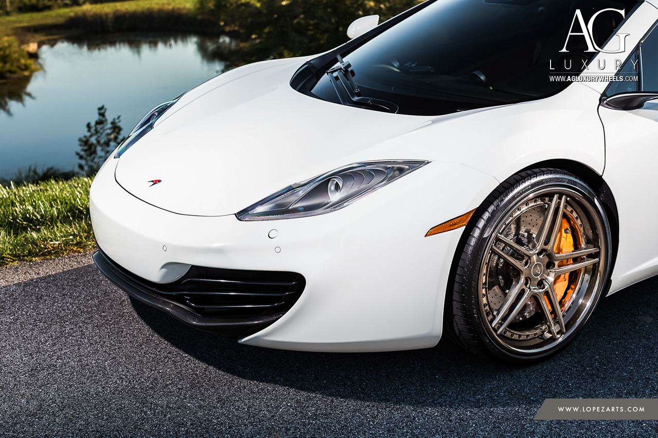 ag luxury wheels mclaren mp4 12c forged wheels. Black Bedroom Furniture Sets. Home Design Ideas