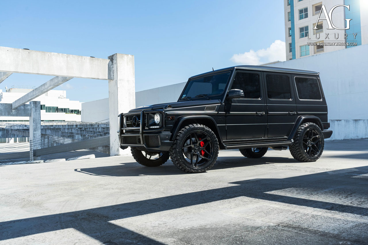 AG Luxury Wheels - Mercedes-Benz G63 AMG Forged Wheels