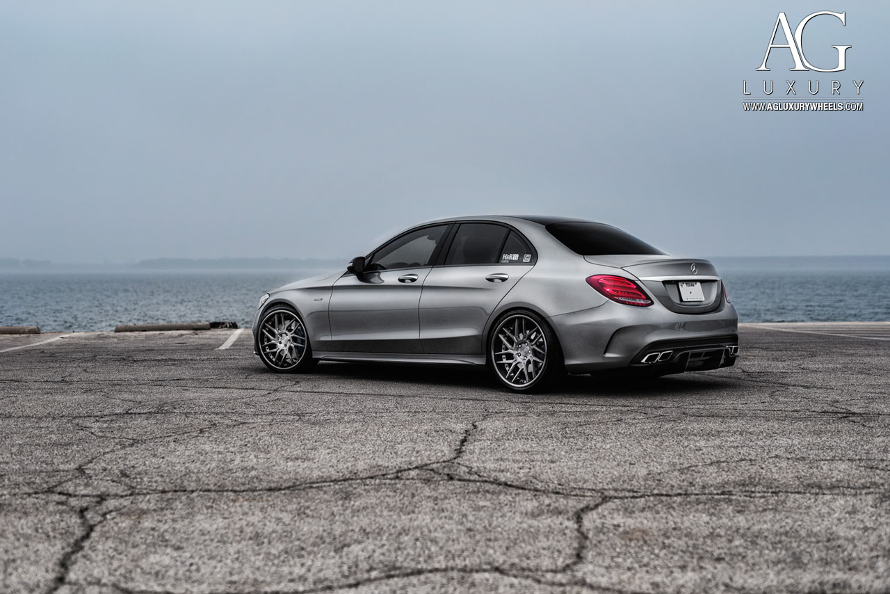 Ag luxury wheels mercedes benz c450 amg forged wheels for Mercedes benz ag