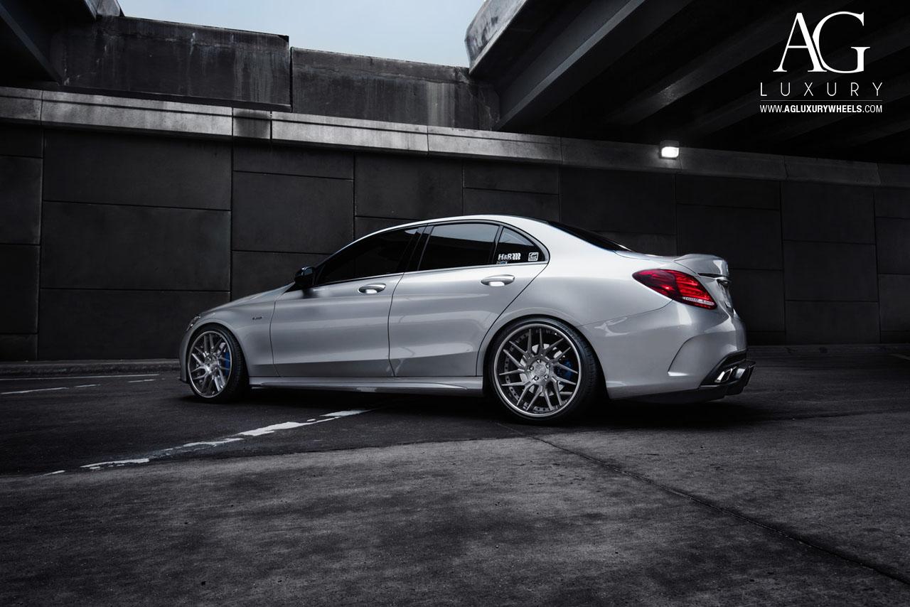AG Luxury Wheels Mercedes Benz C450 AMG Forged Wheels