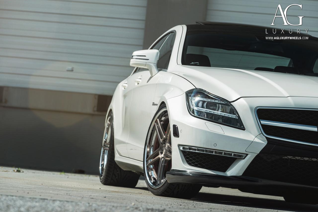 3 Wheel Car >> AG Luxury Wheels - Mercedes-Benz CLS63 AMG Forged Wheels